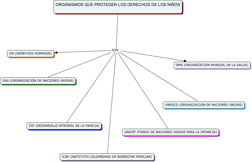 ORGANISMOS QUE PROTEGEN LOS DERECHOS DE LOS NIÑOS