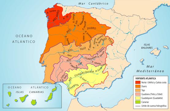 Mapa Norte España Costa.Ihmc Public Cmaps 2
